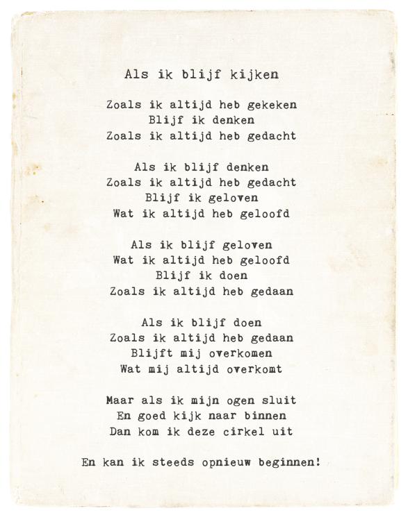 blijf vechten gedichten